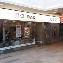 CIB Bank dekorálása 5 éve folyamatosan