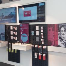 Deutsche Telekom üzletek dekorálása 12 országban