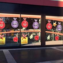 DM karácsonyi portáldekoráció