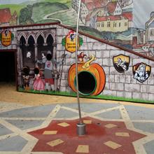 Mátyás Király játszótér dekorálása