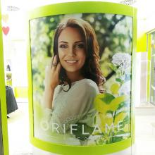 Oriflame tavaszi üzletdekoráció