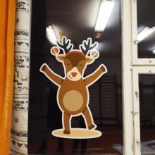 Palotai Vadvirág Óvoda karácsonyi dekoráció