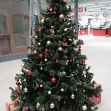 Spar karácsonyi dekoráció