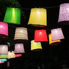 Sziget Fesztivál lamion dekoráció kihelyezése