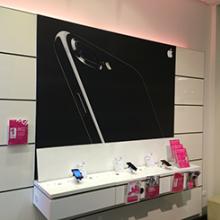 Telekom iPhone dekoráció országszerte